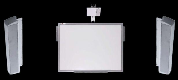 "Tabla Interactiva IQboard Expert - Diagonala 83"" incinte acustice"
