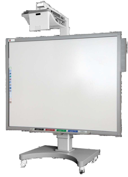 "Tabla Interactiva IQboard Expert - Diagonala 83"" pe stand"